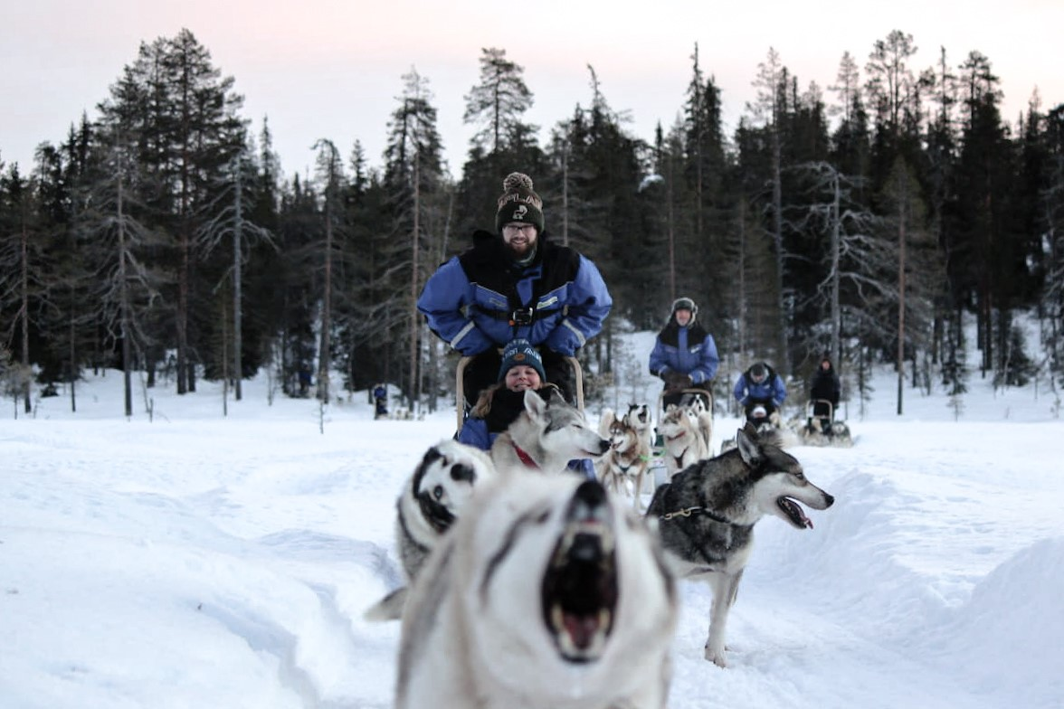 Winterwonderland in Fins Lapland